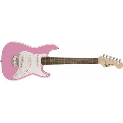 Fender Squier Mini Electric Guitar - Pink