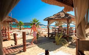 100 Sezz Hotel St Tropez S Bohemian Beach Bars Made Famous By Brigitte Bardot Under
