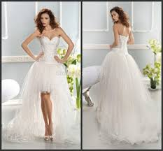 cheap wedding dresses high low overlay wedding dresses
