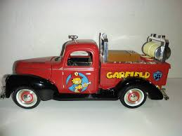 Garfield Golden Wheel 1/16 1940 Ford Replica Collector Fire Truck ...