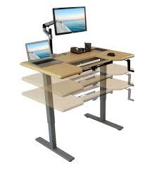 Standing Desk Conversion Kit by Adjustable Standing Desk Topper Best Home Furniture Decoration