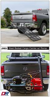 100 Small Utility Trucks Apex Steel Basket Cargo Carrier With Ramp Automotive