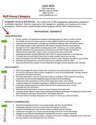 Listing Skills On Resume Highlighted For You The Skill Groups In Our Example Below