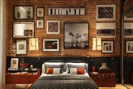 Brick Accent Wall Bedroom