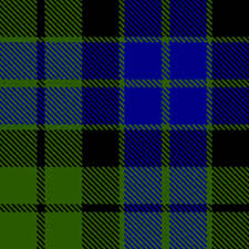 MacKay Clan Badge Tartan