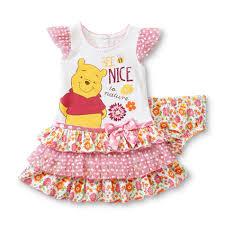 Disney Baby Winnie The Pooh by Disney Winnie The Pooh Newborn U0027s Dress