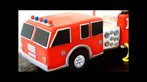 Fire Truck Birthday Cake - YouTube Truck Cake Kay Cake Designs Monster Truck My First Wonky Birthday Design Parenting Monster Cakes Hunters 4th Decoration Ideas Wedding Academy Cakes From Maureens Semi In 2018 Pinterest 10 Dump For Boys Photo Muddy