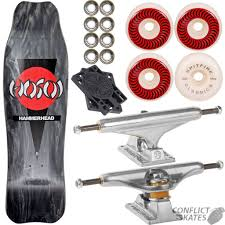 HOSOI Hammerhead - Double Kick Skateboard 9.0 Black Complete ... Ipdent Trucks Stage 11 Hollow 139 Silver Hdware Bolts All Sizes Black Ebay Stg Forged Titanium 149mm Rowley Crosshairs Steel Grey Grant Taylor Gc Silverblue Indy Vancouver Bc 10 Tc Series 149 Skateboard Truck Evo Standard Ipdent 215 Raw Polished Pool Halfpipe Ldon