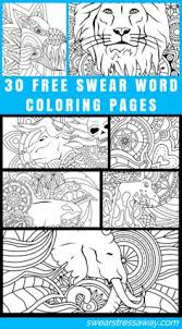 Get 30 FREE Printable Swear Word Coloring Pages Plus 20 Other When