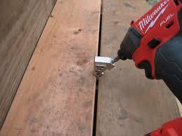 hands on camo hidden deck fastening system