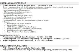 Resume Format For Project Engineer Amusing Power Plant Electrical Sample