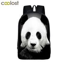 Funny Dabbing Unicorn Backpack For Teens Boys Dab Panda Kids Book Bag Children S