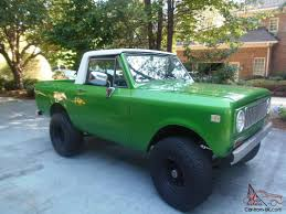 Metallic Green 1974 International Scout II Off Road 4x4 Trd Four Wheel Drive Mud Truck Jeep Scout 1970 Intertional 1200 Fire Truck Item Da8522 Sol 1974 Ii For Sale 107522 Mcg 1964 Harvester 80 Half Cab Junkyard Find 1972 The Truth 1962 Trucks 1971 800b 1820 Hemmings Motor Restorations Anything 1978 Terra Pickup 5 Things To Do With 43 Intionalharvester Scouts You Just Heres One Way To Bring An Ihc Into The 21st Century