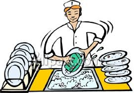 Dishwasher 20clipart Restaurant Job Clipart