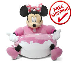 Minnie Mouse Flip Out Sofa by White Wooden Bed On The Middle Of Side Table Combined Most Visited