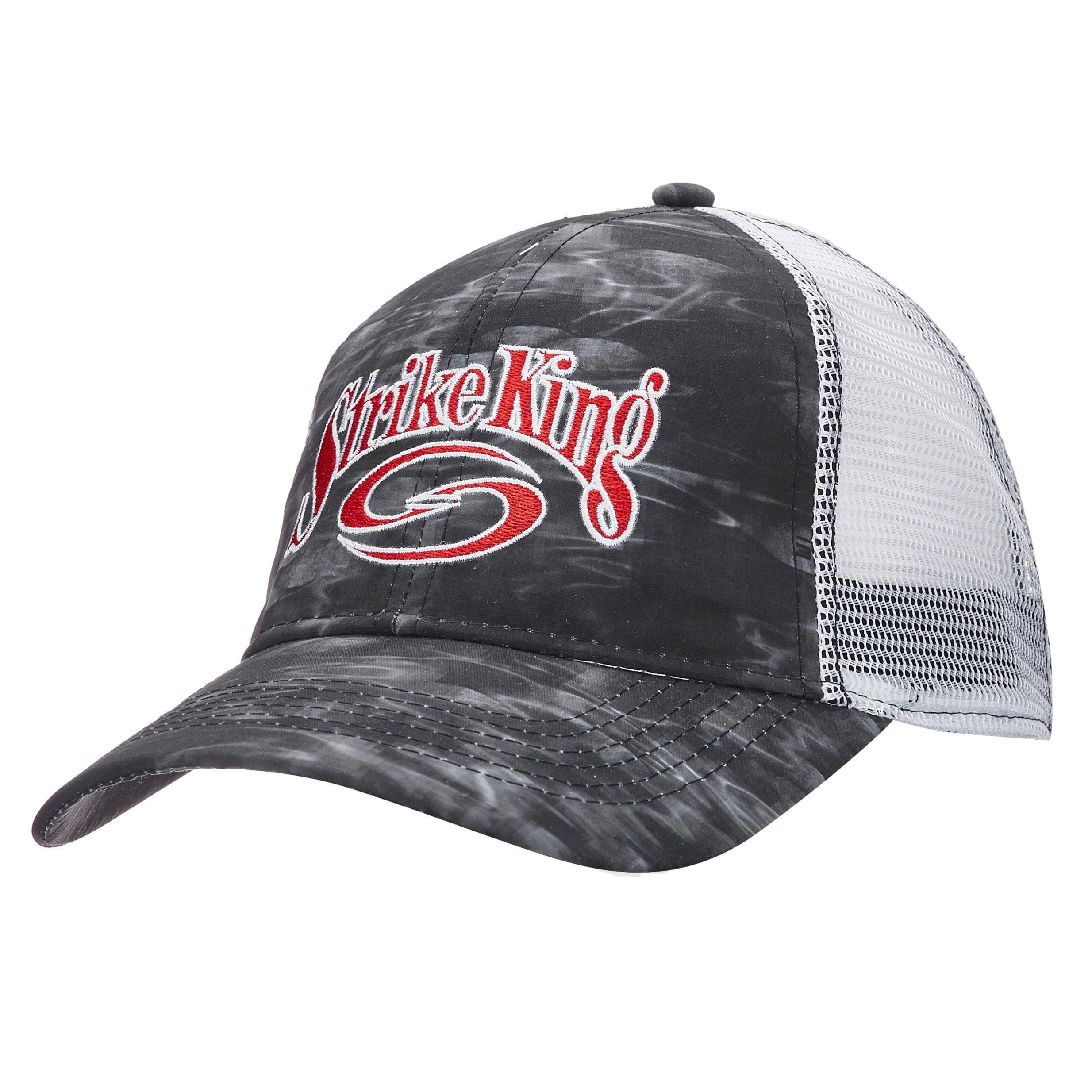 Strike King Lures Trucker Cap - Scale Tech Body/White Mesh