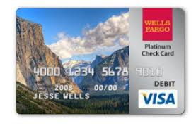 Wells Fargo Debit Card Design