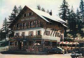 cpsm 06 valberg hôtel restaurant le chalet suisse 06