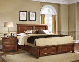 Vaughan Bassett Bedroom Sets by Vaughan Bassett Furniture Bed Buy New Haven Sleigh Storage Bed