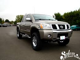 A 2008 Nissan Titan With A 6