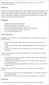 Resume Skills Examples Accounts Receivable Packed With Sample Manager Payable For
