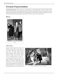 The Cabinet Of Dr Caligari Critical Analysis by German Expressionism Pdf Cinema Paintings
