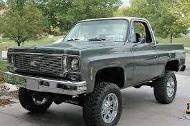 100 Blazer Truck 1976 Chevy Chandler Legarreta LMC Life