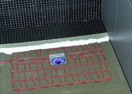 heizmatte für böden in nassbereichen bad und sanitär