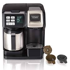 Hamilton Beach 49966 Coffee Maker With Thermal Carafe Single Serve Full