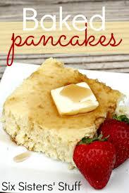 Bisquick Pumpkin Puff Pancakes by Baked Pancakes Recipe Freezer Meal U2013 Six Sisters U0027 Stuff