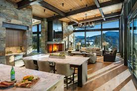 100 Mountain Home Architects Modernrustic Mountain Home With Spectacular Views In Big