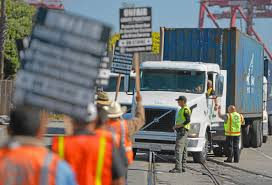 100 Truck Strike Port Truck Drivers Planning 15th Strike In Protest Of Greedy