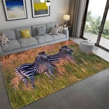luxus schwarz zebra muster große teppich für wohnzimmer europa und amerika tier gedruckt haus matte weichen schwamm bad matte