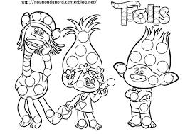 Coloriage Trolls Gratuit 123Coloriage