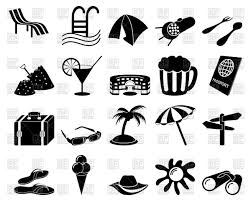 Set Of Travel Icons Royalty Free Vector Clip Art