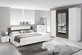 rauch schlafzimmer borba schlafzimmer set alpinweiß grau metallic mehrteilig