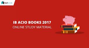 Pearson Exam Copy Book Bag by Intelligence Bureau Books For Acio Exam Preparation 2017