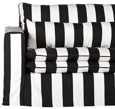casa padrino sofa schwarz weiß modernes wohnzimmer sofa mit streifen moderne wohnzimmer möbel