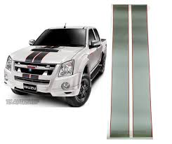 GRAY STICKER FRONT GRILLE STYLE X-SERIES FIT ISUZU D-MAX 2DR 4DR ...