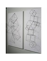Gold Leaf Design Group Wire Cubes Set of 4 Considered items for