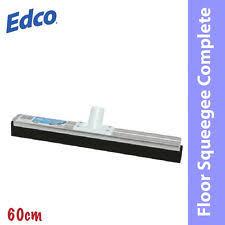 Foam Floor Squeegee Ebay by Carlisle Steel Black 60cm Straight Double Foam Floor Squeegee