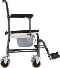 Handicap Toilet Chair With Wheels by Amazon Com Nova Medical Products Drop Arm Transport Chair Commode
