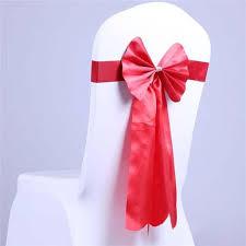 ruban pour noeud de chaise ruban nœud de chaise en spandex stretch décoration housse de