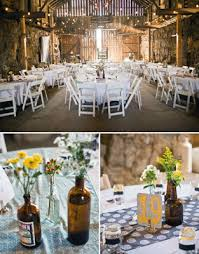 Modern Rustic Reception Ideas Indoor The Table Decors Are Simple And
