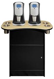 Wood Top 200 Front OCS 250 Office Coffee Stand