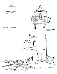 Free Printable Lighthouse Coloring Pages