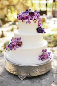 Best 25 Purple Wedding Cakes Ideas Pinterest Purple Cakes In Incredible Along With Interesting Wedding Cake Ideas With Purple Flowers