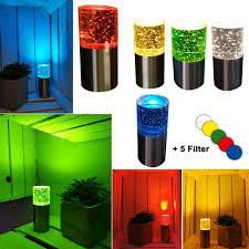 led dekoleuchte dekole mit farbwechsel rund bunt tischle wohnzimmer 13 cm