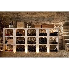 casier a bouteille de vin en reconstituée rangement cave