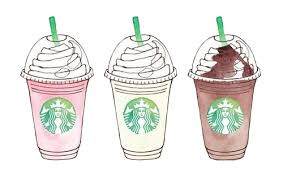 Image Result For Girly Tumblr Transparents Starbucks